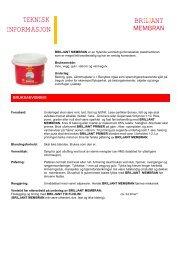 Briljant membran - ADDA Byggkjemi AS