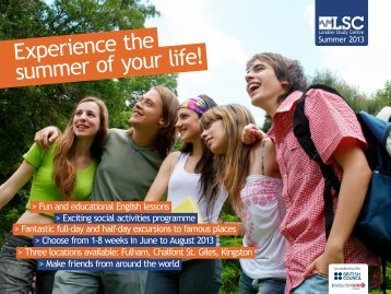 Experience the summer of your life! - polskA-Anglia.co.uk