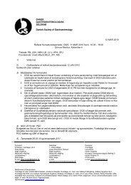 DANSK GASTROENTEROLOGISK SELSKAB Danish ... - fra DSGH