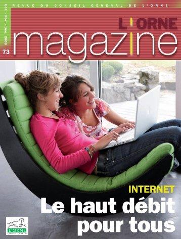 Orne Magazine n°73 - Conseil Général de l'Orne
