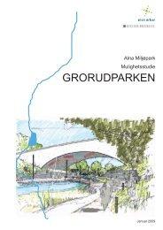 GRORUDPARKEN - Plan