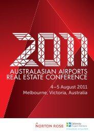 AAREC 2011 Brochure - Airport Property - Home