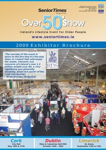 Dublin Cork Limerick 2009 Exhibitor Brochure - CARDI