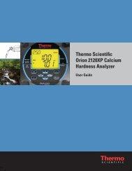 Thermo Scientific Orion 2120XP Calcium Hardness Analyzer