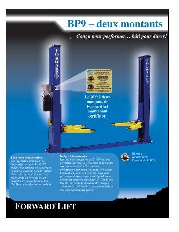BP9 – deux montants - Ctequipmentguide.ca