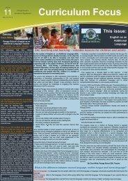 Download Curriculum Focus March 2012 Issue 11 - Panaga School