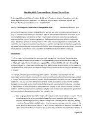 Testimony - Elibiary - Committee on Homeland Security