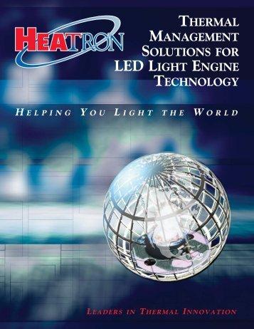 LED Brochure - Custom Component Sales, LLC