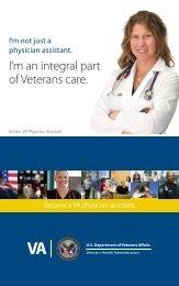 Become a VA Physician Assistant - VA Careers