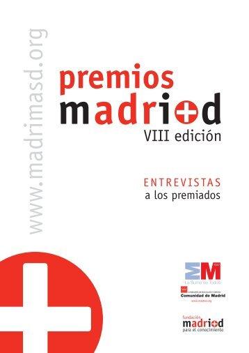 Monográfico premios mi+d VIII edición - Madri+d