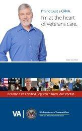 Become a VA Certified Registered Nurse Anesthetist - VA Careers