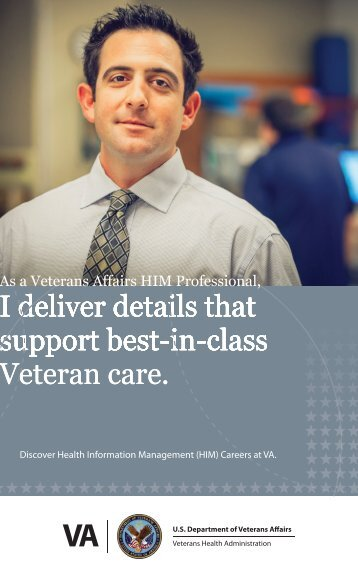 Veteran care. - VA Careers
