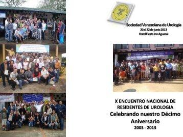 ver Programa - Sociedad Venezolana de Urología