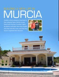 Building a new life in - Murcia Property