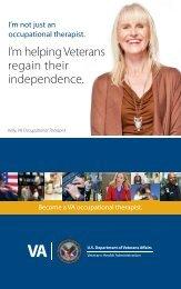 VA Occupational Therapy brochure - VA Careers