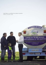 FONTERRA CO-OPERATIVE GROUP lImITEd annual REVIEW 2008