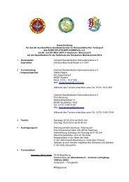 Page 1 Ausschreibung für das 28. bundesoffene Gardetanzturnier ...