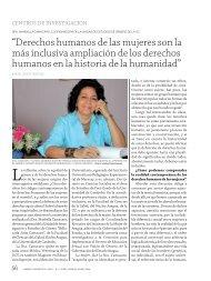 """""""Derechos humanos de las mujeres son la más inclusiva ampliación ..."""