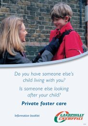 Private foster care