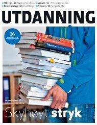 Utdanning nummer 16 2012 - Utdanningsnytt.no