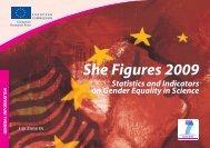 She Figures 2009 - Ufficio di statistica