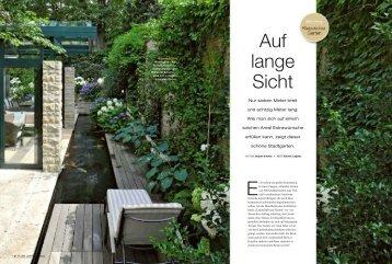 Auf lange Sicht - Architekturbüro Landschaft und Garten