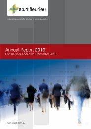 Annual Report 2010 - Sturt Fleurieu