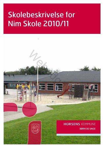 Nim skole 2010-11