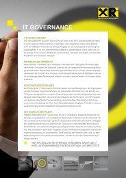 IT GOVERNANCE - Raiffeisen Informatik
