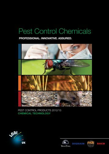 Pest Control Chemicals - Lodi UK's