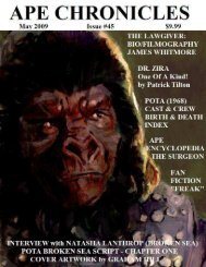 Ape Chronicles #045 - Hunter's Planet of the Apes Archive