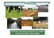 Tim Smith, AGRITAS - DairyTas