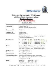 VA-NR: 801325002 - LVPS - Ausschreibung - RSV Wittichenau e.V. ...