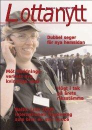 verkets nya kvinnliga chef Baltic Link 2000 i - Lottorna