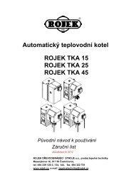 TKA + TKA 15_bez ruèního režimu - Rojek, a.s.