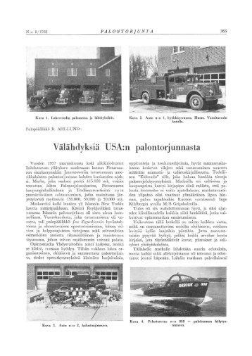 Palontorjunta 8/1958 - Pelastustieto