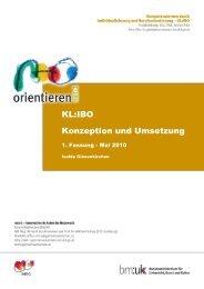 KLIBO Projektkonzept - Berufsorientierung - Bundesministerium für ...