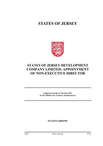 States of Jersey Development Company Limited - States Assembly