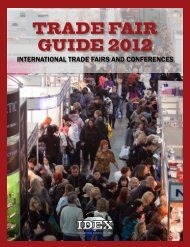 Trade Fair Guide 2012 - IDEX Online
