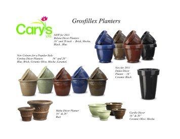 Grosfillex Planters