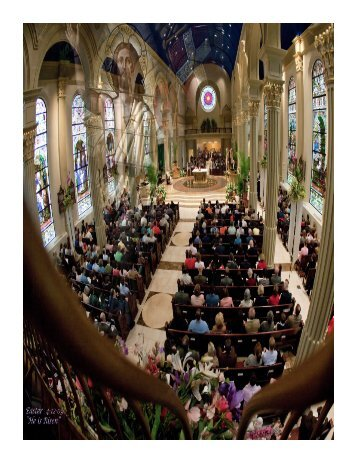 April 13-14, 2013 - Cathedral of the Immaculate Conception