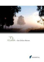Fojana-Broschüre