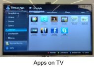 Smart TVs - TamsPPC - Tamoggemon
