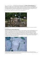 1. Spatenstich, 24.05.2007, Report-K - Die Kölner Grün Stiftung