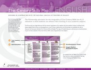 21st Century Skills Map - The Partnership for 21st Century Skills