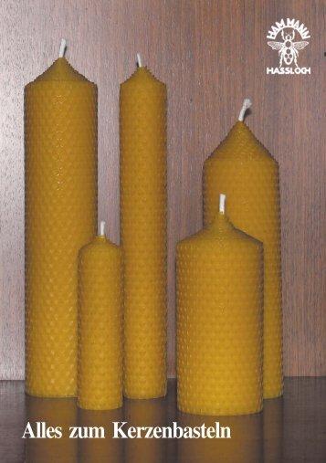 Alles zum Kerzenbasteln - hammann
