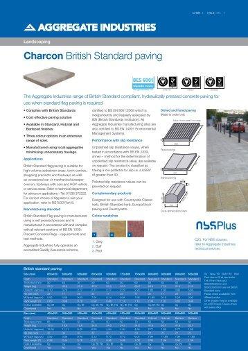 British standard paving - Aggregate Industries