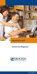 Sparbuch 2011 - MARIC Service  GmbH