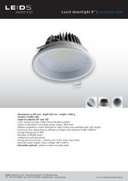 Lucid downlight 8"