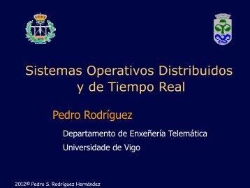 Sistemas Operativos Distribuidos y de Tiempo Real - GTI